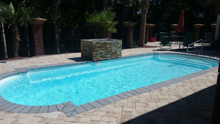 Fiberglass Pools Infinity Pool Construction Llc